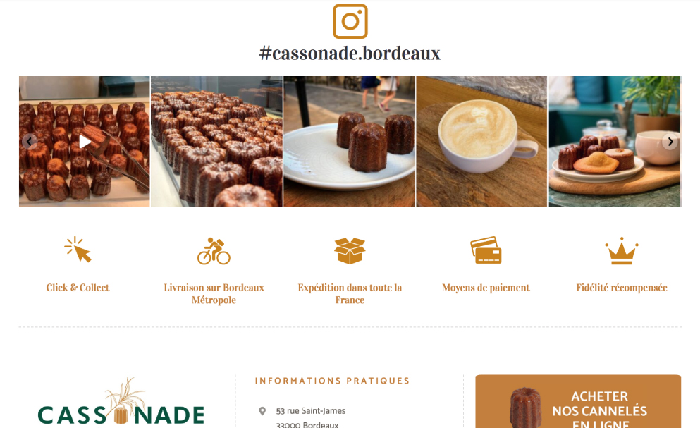 creation site web, avis Google, site boutique, ecommerce, bordeaux, cassonade