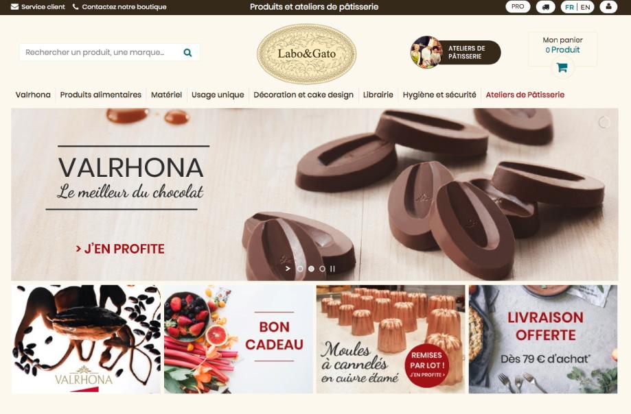 labo&gato bordeaux ecommerce, eshop, conception boutique en ligne