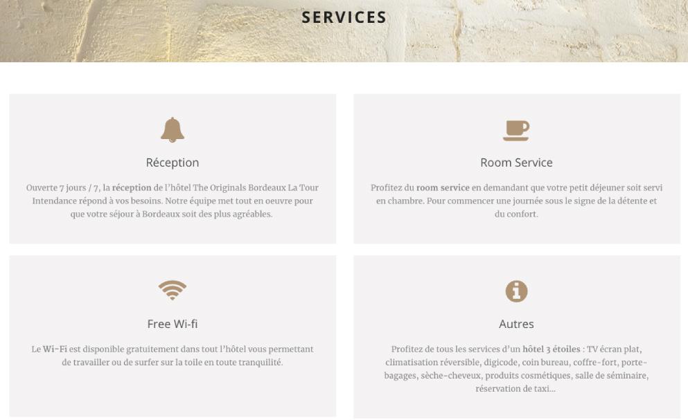 conception site internet hotel bordeaux